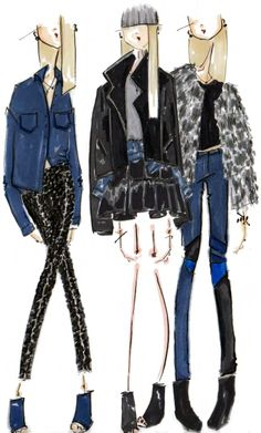 Blank NYC Sketch | Pinned from Board of http://www.pinterest.com/nancynob/fashion-sketches/