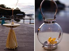 Modern Yellow and Blue Wedding