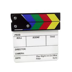 Proaim Mini Clapper Board Slate (P-CLBS-M) Director's Film Movie Cut Action Scene Slateboard ** Check this awesome product by going to the link at the image. (This is an Amazon Affiliate link and I receive a commission for the sales)