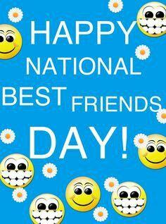 National Best Friend Day National Best Friend Day Best Friend