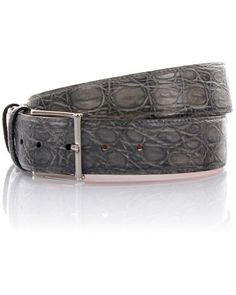 Santoni 800 dollar belt. Alligator https://twitter.com/sandnerber