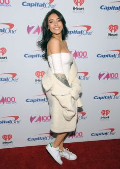 Madison Beer at Z100's iHeartRadio Jingle Ball in New York!  (December 9th, 2016) #Madisonbeer