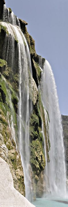 Tamul Waterfall in La Huasteca, Mexico visit http://www.reservationresources.com/