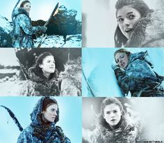 Game of Thrones:  Rose Leslie as Ygritte