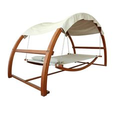 Fancy   Swing Bed With Canopy