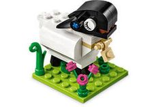 FREE LEGO Lamb Mini Model Build at Lego Stores on http://www.freebies20.com/