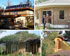 Multiple alternative home building materials and styles !....Can be learned and built by ((almost anyone)) with low to NO mortgage {yes debt free} 7 different sustainable house projects on this link.