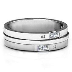 Baguette Men's Ring #jewlr