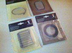 Taking Notes Set of Four Clear Stamp by by RoyalDescent10 on Etsy, $4.89
