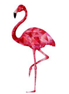 Polygon Flamingo