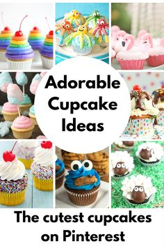 The Cutest Cupcakes on Pinterest
