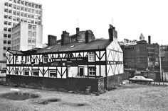 """A Pub in Manchester, England ps, """"Old & Famous"""". by ted motler. British Pub, Great British, Midland Hotel, Manchester England, Salford, Derbyshire, Old Buildings, Cinque Terre, South Of France"""