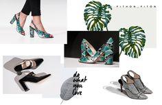 Mood, verde, zapatos, calzado, diseño calzado, moda, tendencias, tacones, zapatos serpiente LEI É Heeled Mules, Heels, Collection, Fashion, Shoe Designs, Footwear, Green, Trends, Women