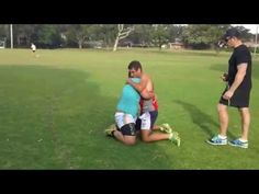 Rugby League Fitness Drill - YouTube