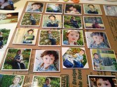 DIY Photo Tile Coasters