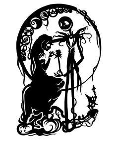 BUY 2 GET 1 FREE. Modern cross stitch pattern Sally and Jack Skellington Nightmare Before Christmas cross stitch patterns baby cross stitch Jack Skellington, Cross Stitching, Cross Stitch Embroidery, Embroidery Patterns, Jack E Sally, Silhouette Cameo, Arte Zombie, Images Disney, Modern Cross Stitch Patterns