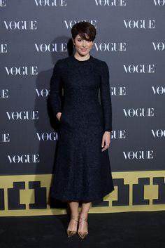 Bárbara Lennie en la entrega de los Premios Vogue Joyas 2013 el 18-11-14