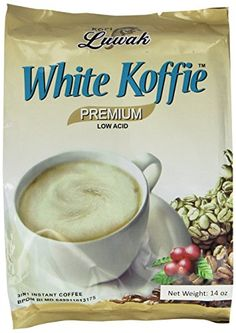 LUWAK White Koffie LOW ACID Instant Coffee Pack of 20 sachets * You can get more details by clicking on the image. Diabetic Recipes, Baby Food Recipes, Gourmet Recipes, Snack Recipes, Healthy Recipes, Healthy Drinks, Healthy Snacks, Baby Snacks, Instant Coffee