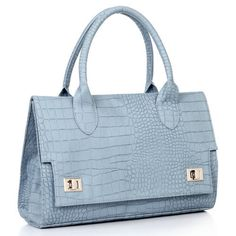 crocodile pattern bag