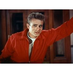 "James Dean in ""Rebel Without a Cause"", (1955)."
