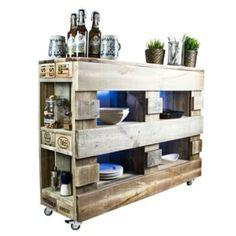 Bar aus Paletten-Palettenbar diy garden furniture ᐅ Gartenmöbel aus Paletten - Europaletten Möbel