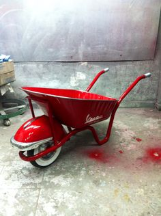 Wheelbarrow vvb 63 R.D design vespa