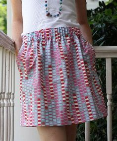 Tutorial: Elastic-Waist Flirt Skirt – Sewing