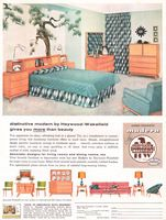 Heywood-Wakefield Modern 1956 Ad Picture