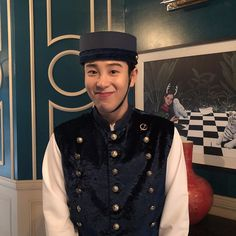 Image may contain: one or more people Po Block B, Kpop Rappers, Pyo Jihoon, B Bomb, Korean Actors, Cute Guys, Korean Drama, Kdrama, Captain Hat