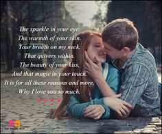 Short Love Poems For Her - The Sparkle In Your Eye