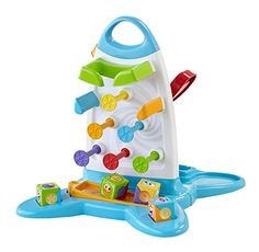 FisherPrice Roller Blocks Play Wall -- Click image for more details. (This is an affiliate link)
