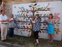 Tree of Life Unveiled in Swanage
