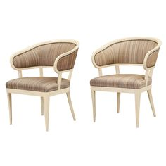 "Pair of ""Jonas Love"" Chairs by Carl Malmsten 