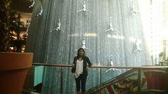 The Dubai Mall Waterfall