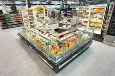 Supermarket Design | Refrigeration | Retail Design | Shop Interiors | Alma grocery