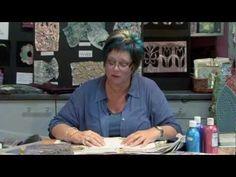 Kim Thittichai Talking Threads dvd explaining hot fusing experimental fabric with iron/heat gun - her book is Hot Textiles Mixed Media Techniques, Textiles Techniques, Sewing Techniques, Art Techniques, Fabric Paper, Fabric Painting, Fabric Scraps, Art Textile, Textile Artists