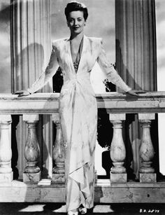 Now, Voyager (1942) - Bette Davis - By far my favorite outfit in this movie. One day I will recreate! - GRT