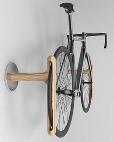 """6,206 Likes, 70 Comments - Product (@p.roduct) on Instagram: """"Bicycle Rack Mounted on the Wall by Alex Yoo. #p_roduct"""""""