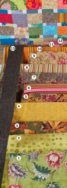Designer Weeks Ringle of Modern Quilt Studio shared her remedy for those  hard-to-figure-out-what-to-do-with fabrics in a quilter's stash.