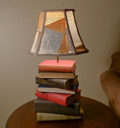 It's pretty rad if I do say so myself... http://www.etsy.com/listing/81296534/book-lamp-from-antique-books-and?ref=af_shop_favitem $140