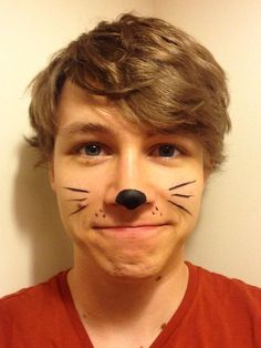 Charlie McDonnell. Meow. Omg Dan and Phil cat whiskers