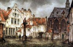 work of Anton Pieck