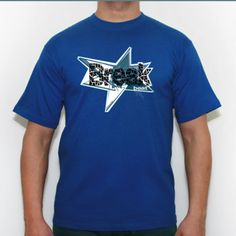 Break beat Blue - Camiseta calidad 180 gr/m2 Russell 180