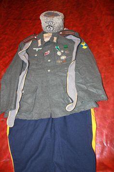 Cossack Volunteer, (Siberian) German Uniforms, German Army, Military Art, Vietnam War, World War Ii, Wwii, Italy, Collection, Historia
