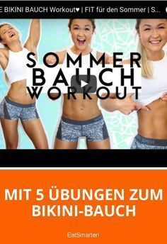 With 5 bikini belly exercises with Sophia Thiel - Fitness-Tipps - Yoga Fitness, Fitness Workouts, Fitness Motivation, Workouts Hiit, Body Workouts, Pilates Training, Bob Harper Workout, Eco Slim, Workout For Flat Stomach