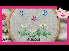 Hand embroidery - How to Do stump work with french knot . Hand Embroidery Flowers, Hand Embroidery Tutorial, Embroidery Sampler, Learn Embroidery, Embroidery For Beginners, Hand Embroidery Patterns, Embroidery Techniques, Embroidery Stitches, Border Embroidery
