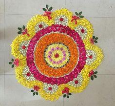 Wedding Room Decorations, Diwali Decorations At Home, Backdrop Decorations, Festival Decorations, Backdrops, Rangoli Borders, Rangoli Border Designs, Colorful Rangoli Designs, Rangoli Designs Diwali