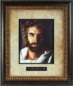 """Akiane Collection: Prince of Peace was painted by world-renowned child prodigy Akiane Kramarik when she was only eight years old. Featured in the bestselling book Heaven is for Real, it was this image of Jesus that young Colton Burpo claimed accurately represented the likeness of Jesus he had seen in heaven.    John 14:6 displayed underneath: """"I am the Way, the Truth, and the Life."""""""