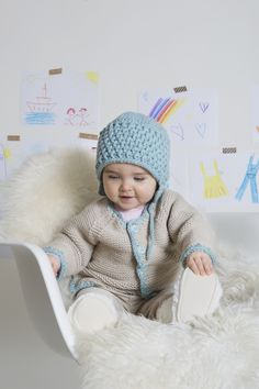 Babyjacke & -mütze - Initiative Handarbeit