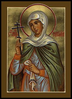St. Natalia. Never knew there was a Saint with my name......how cool!
